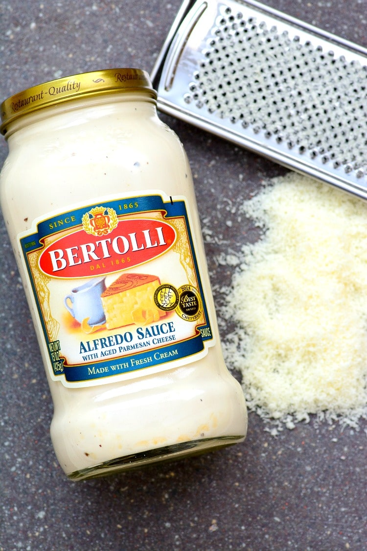 Spicy Sausage Alfredo Recipe : Fry up some andouille sausage and added it in with the pasta and alfredo for a great quick dinner