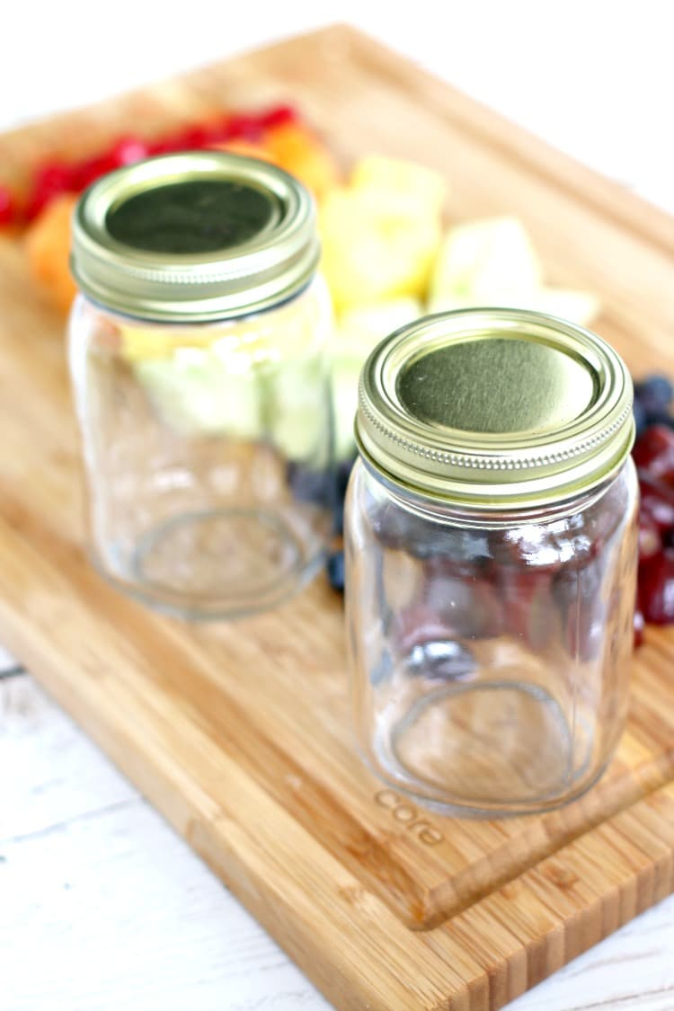 Boozy Fruit Jars: The best way to liven up an adult Friday night party. Pairs well with Cards of Humanity!