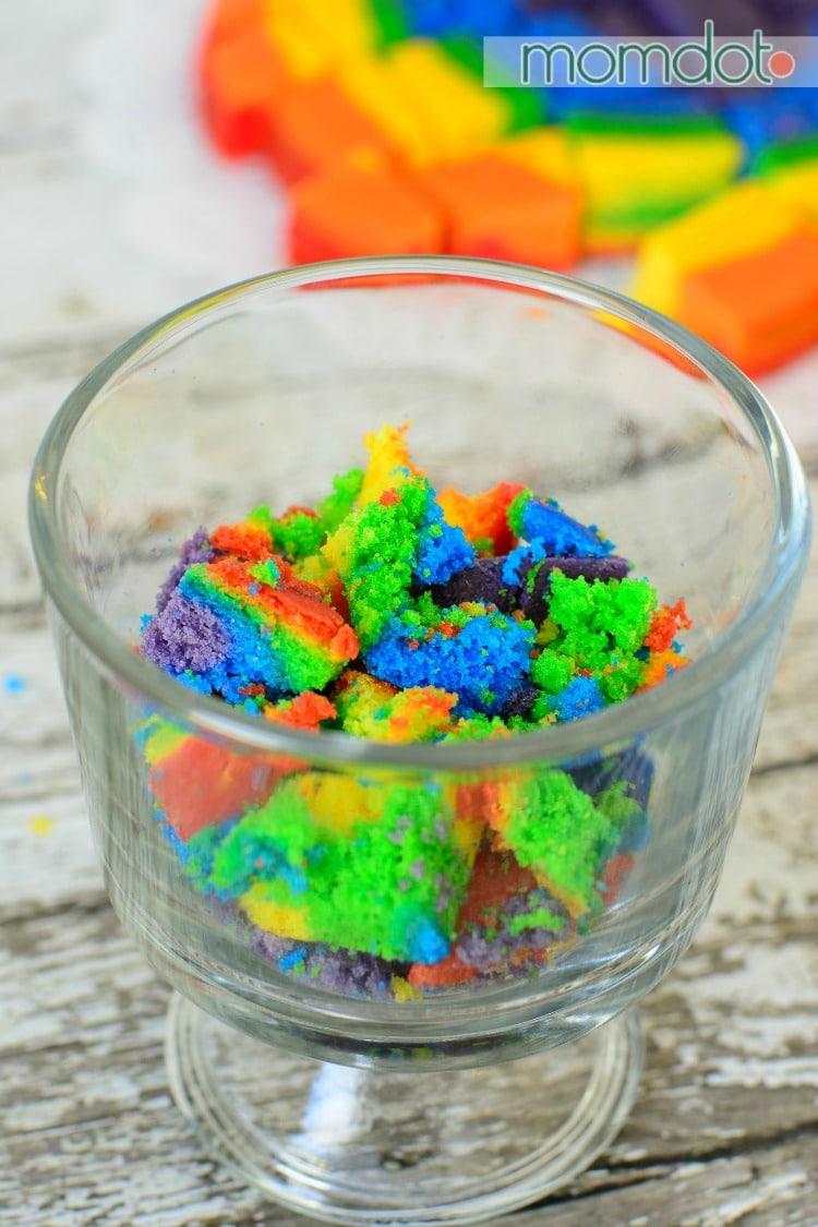 Rainbow Cake Trifle Kid Friendly Momdot