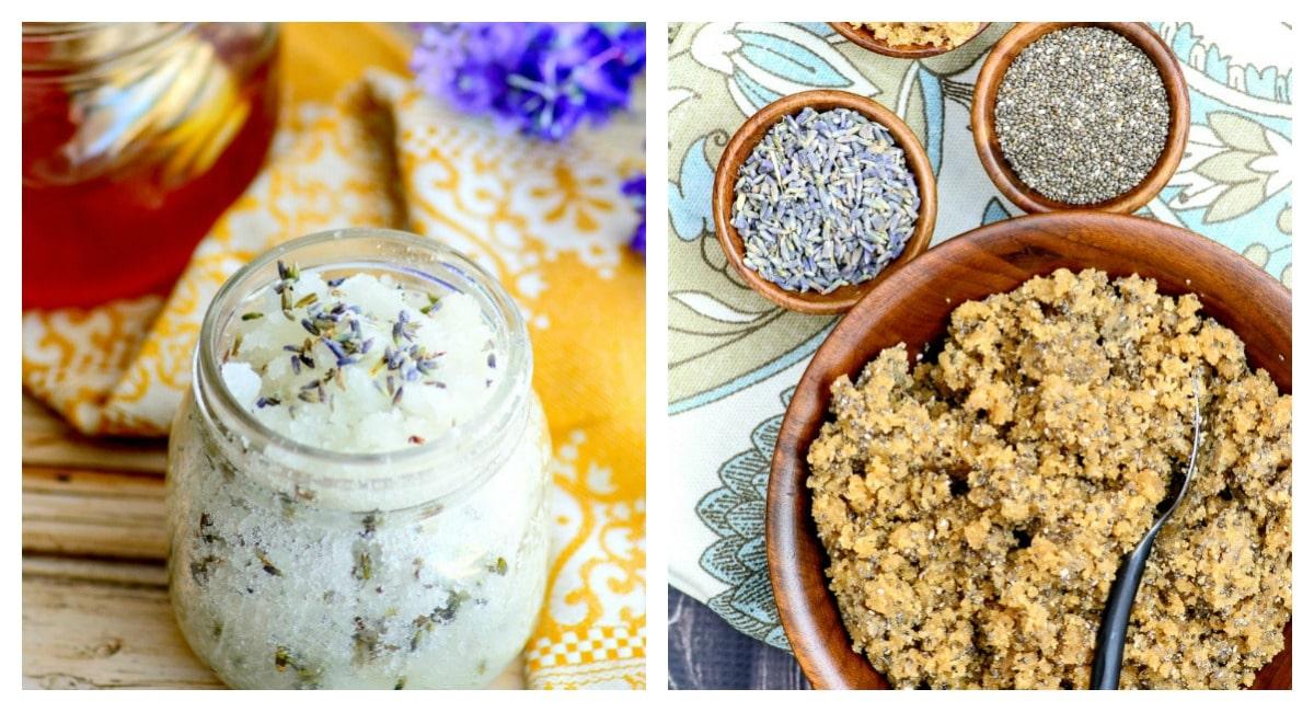 Brown Sugar, Lavender and Chia Scrub Recipe: Never buy store bought scrub again!