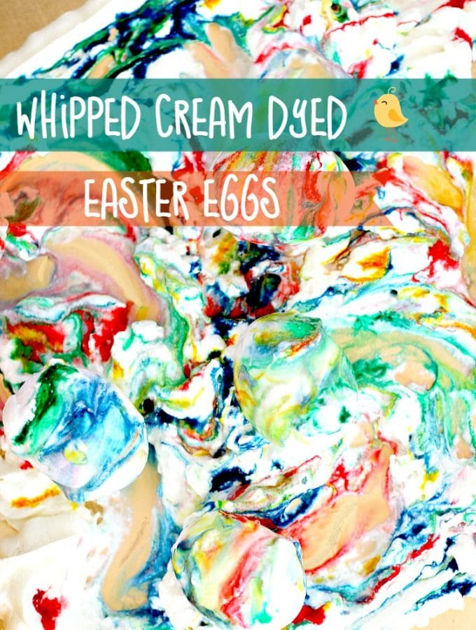 Dye Eggs With Whipped Cream (Instead of Shaving Cream)