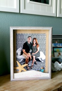 Beach DIY: Create Custom Memory Shadow Boxes from Vacation