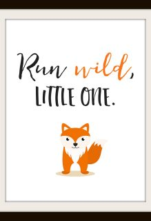 Free Nursery Printables: Animal Set of 4