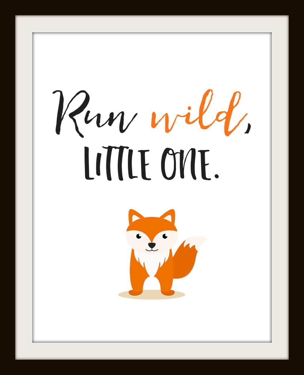 Free Nursery Printables Animal Set Of 4