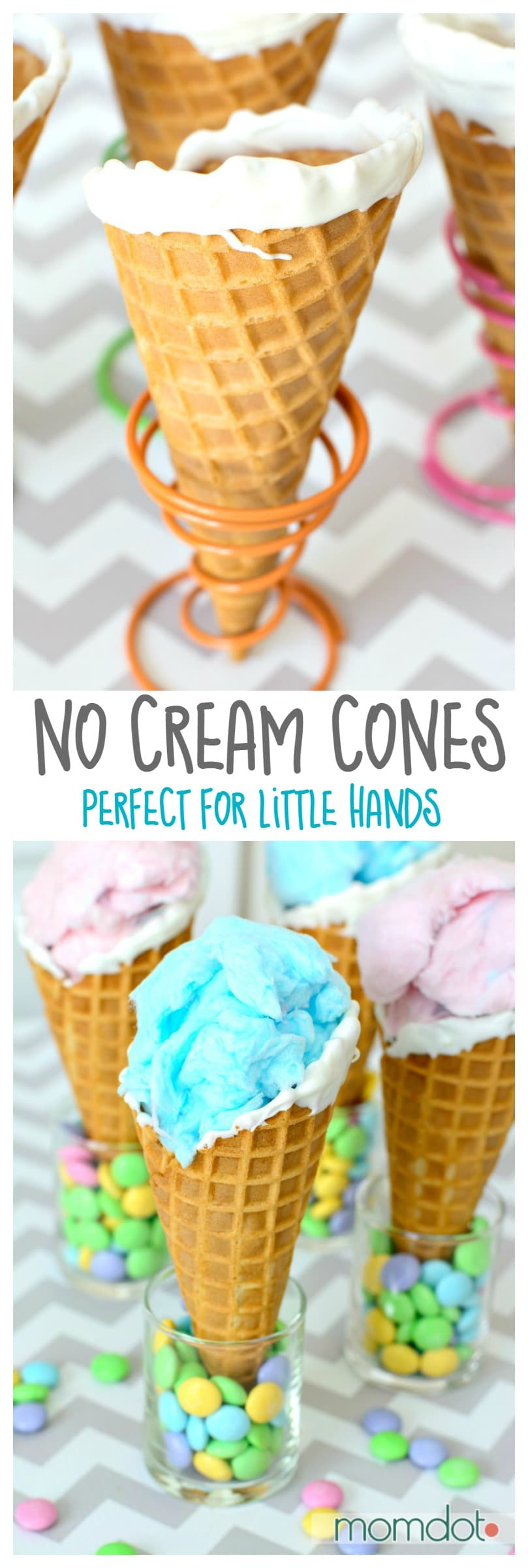 No Cream Cones: Party Favors without the mess