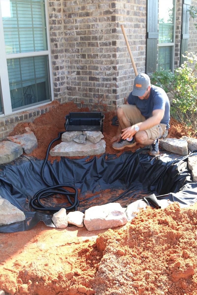 How to build a pond and waterfall for Easy backyard pond