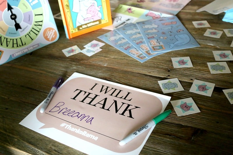 Help your kids learn to THANK someone in their lives. A perfect book for kids plus FREE Printable and inspiration on who to thank