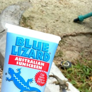Blue Lizard Sunscreen : Cap turns blue in UV light - originally created in Australia, where sunscreen standards are the strictest in the world learn more!
