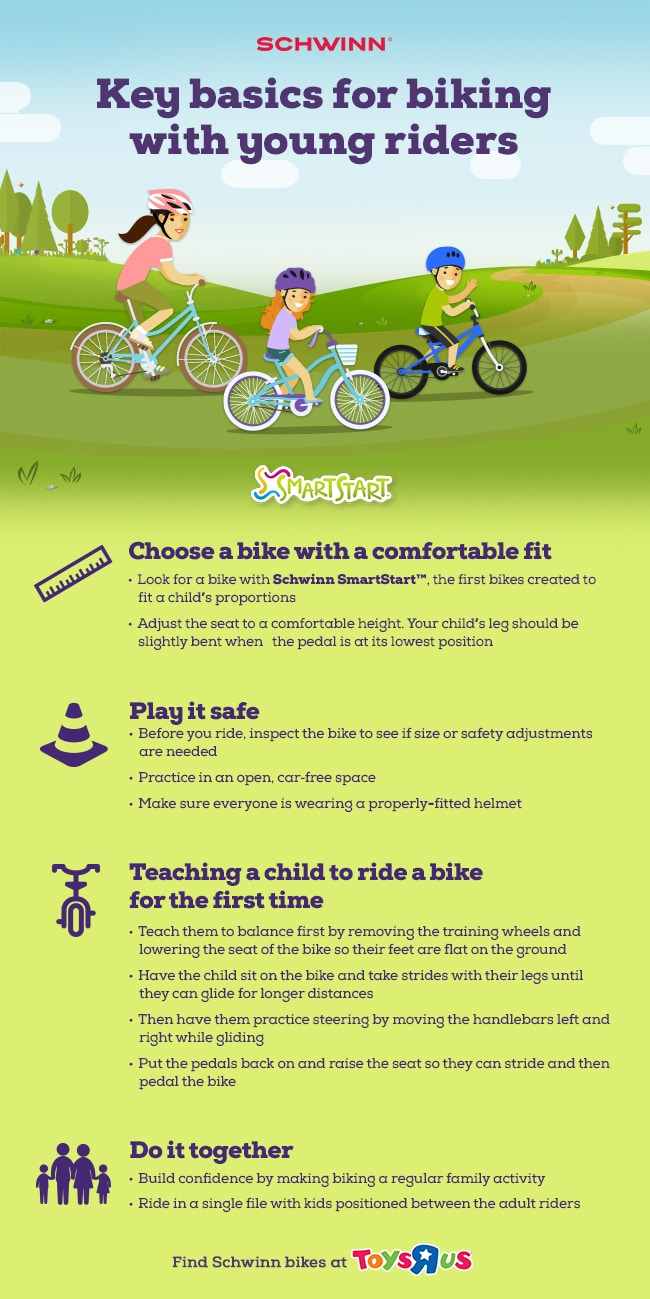 Tips on learning how to ride a bike for kids