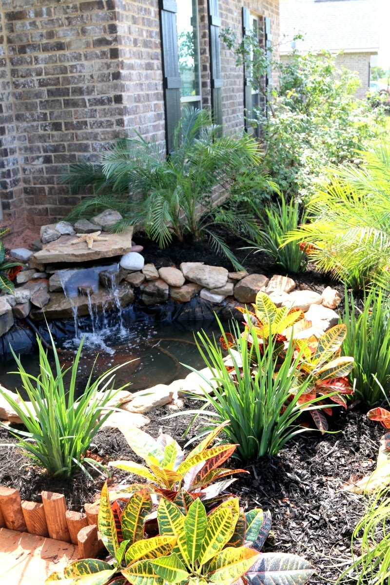 Build a pond diy for Easy backyard pond