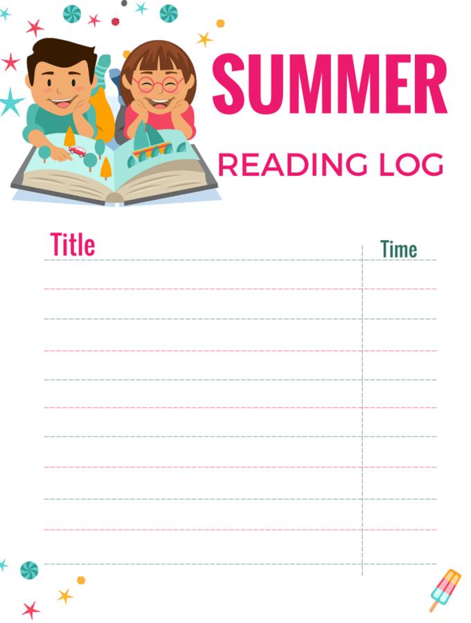 Summer Reading Log: Free Printable