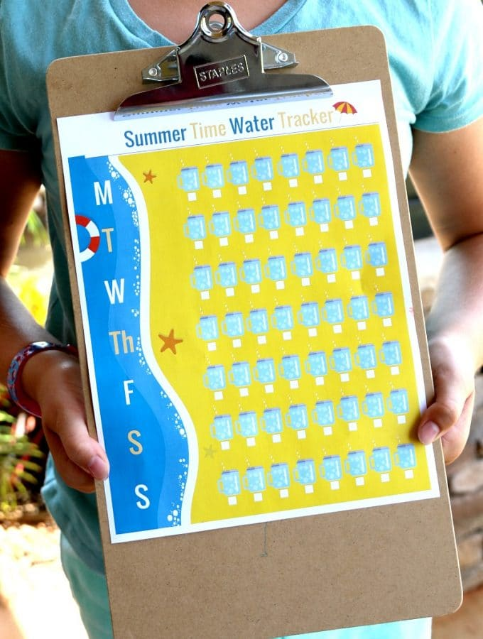 Water Tracker: Free Printable