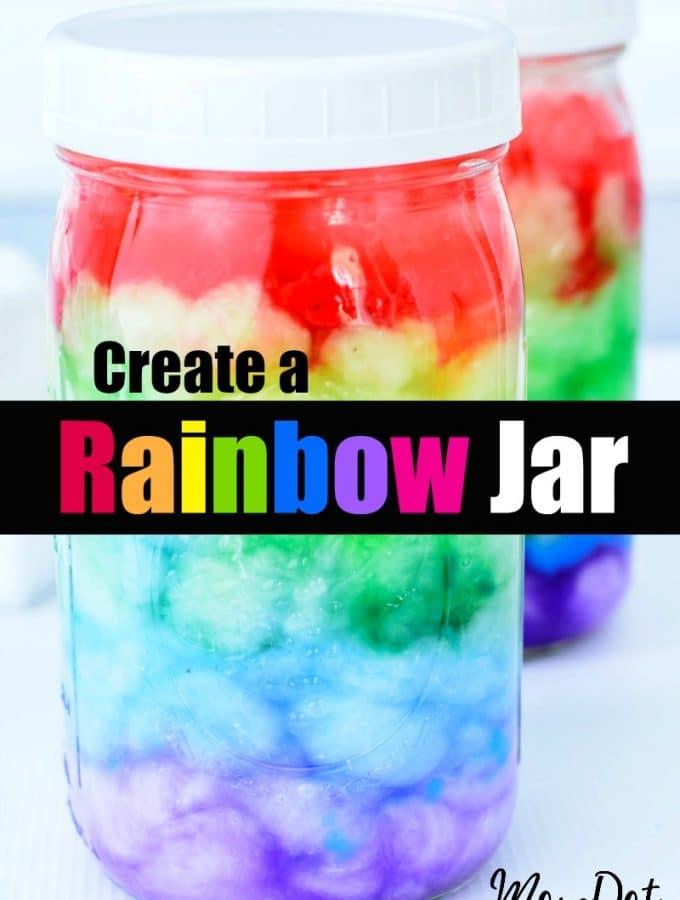 DIY Rainbow Jar Tutorial