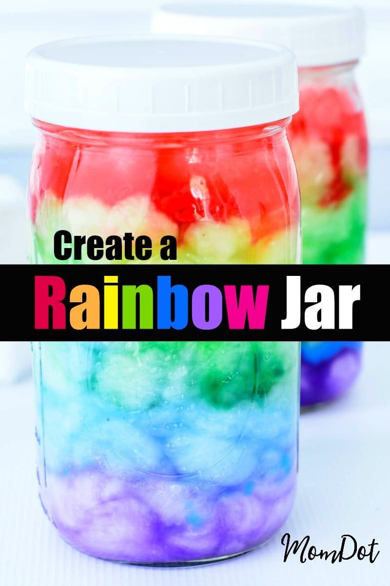 how to make a rainbow jar