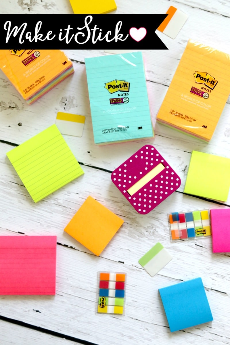 Create a Chalkboard Wall which acts as a Family Hub- use Post-it Notes to keep up with daily school tasks and chores, easy to remove washi tape makes great outline