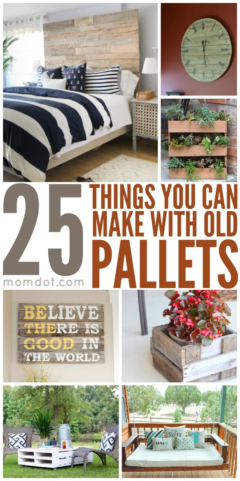 25 Things You Can Make With Old Pallets