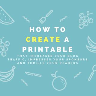 How to Make a Printable: E-Book