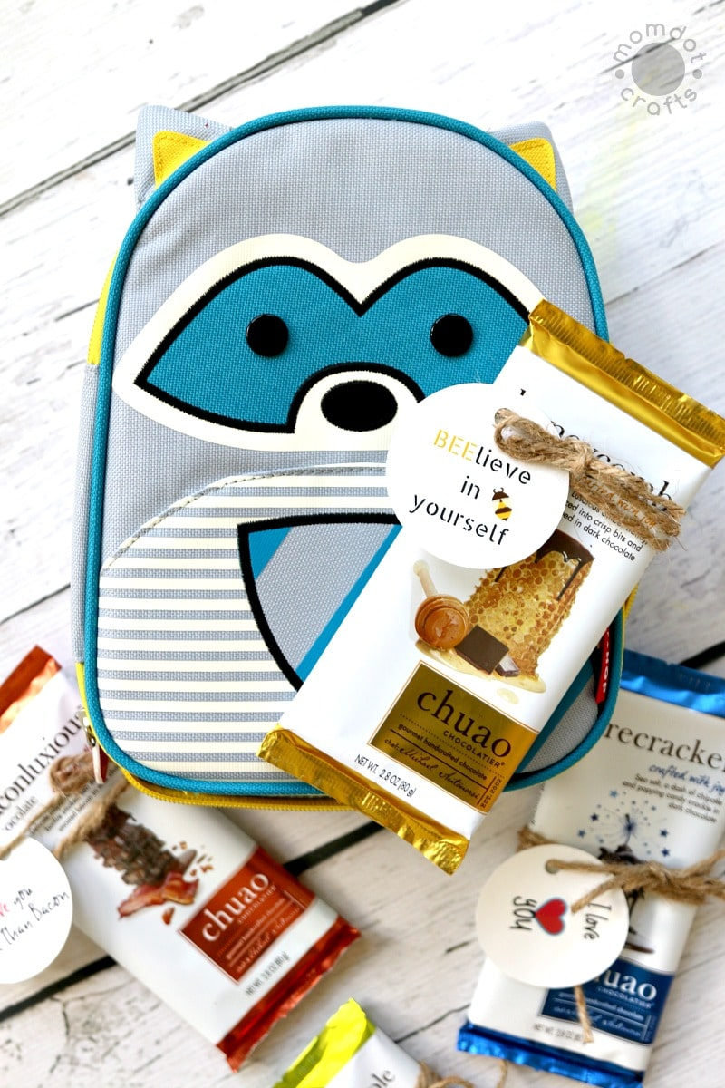 Back to School Gift + Free Printable Tags