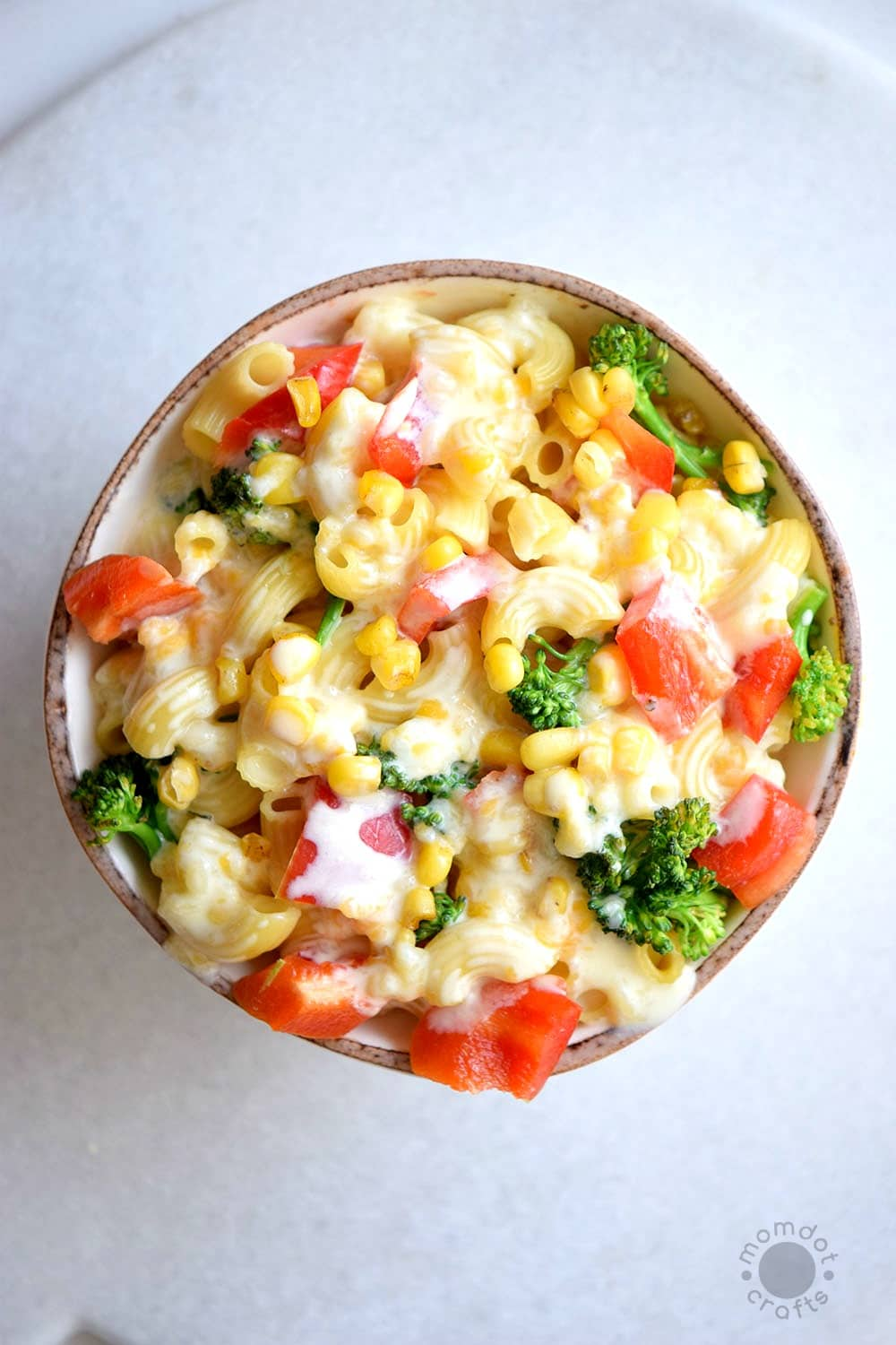 Steamed Veggies Mac And Cheese