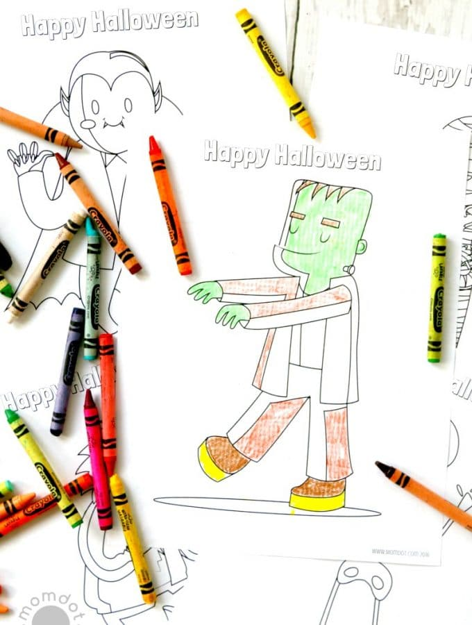 Free Halloween coloring pages (printables) for kids