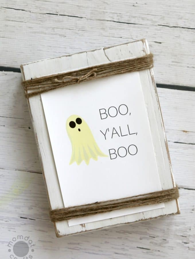 Boo, Y'all, Boo : Free Fall Print