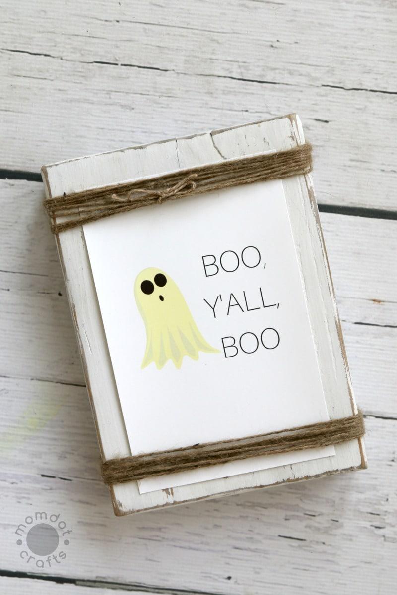 Boo, Y'all, Boo : Free Fall Print
