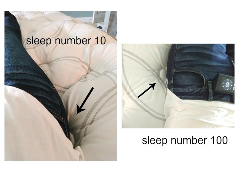 100 sleep number bed in store sleep number
