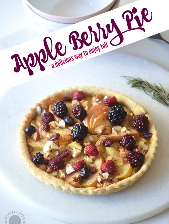 Apple and Berry Pie Recipe