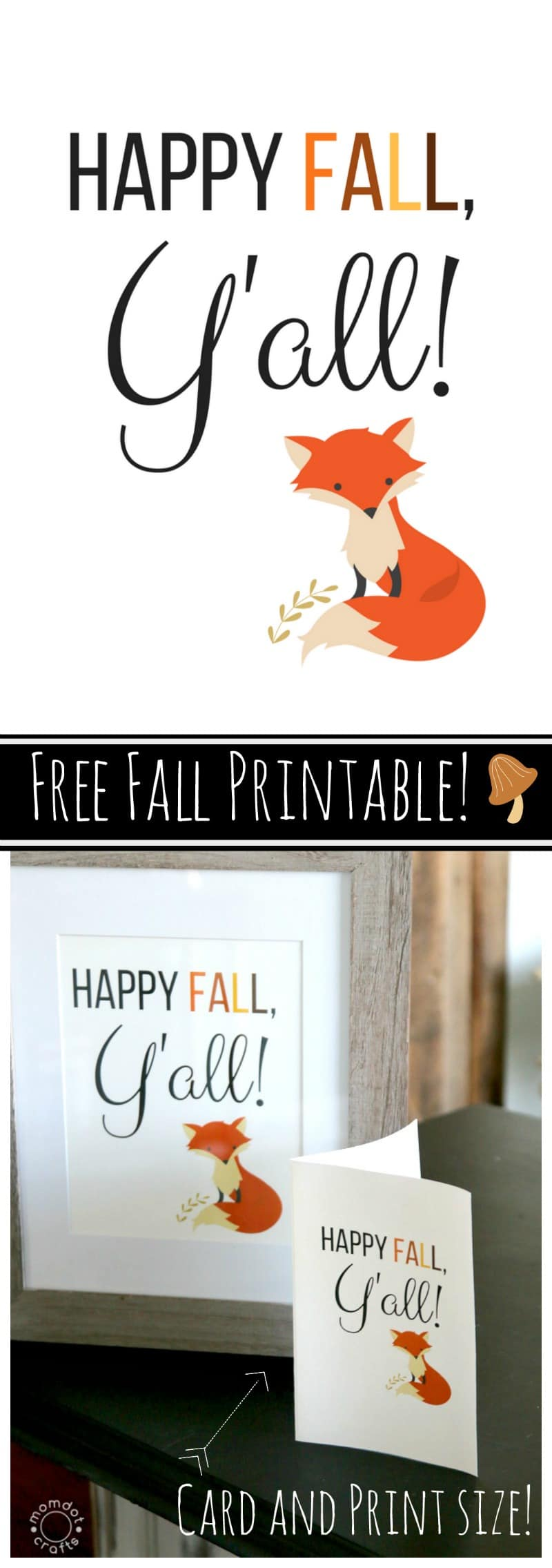 This is an image of Lucrative Happy Fall Yall Printable
