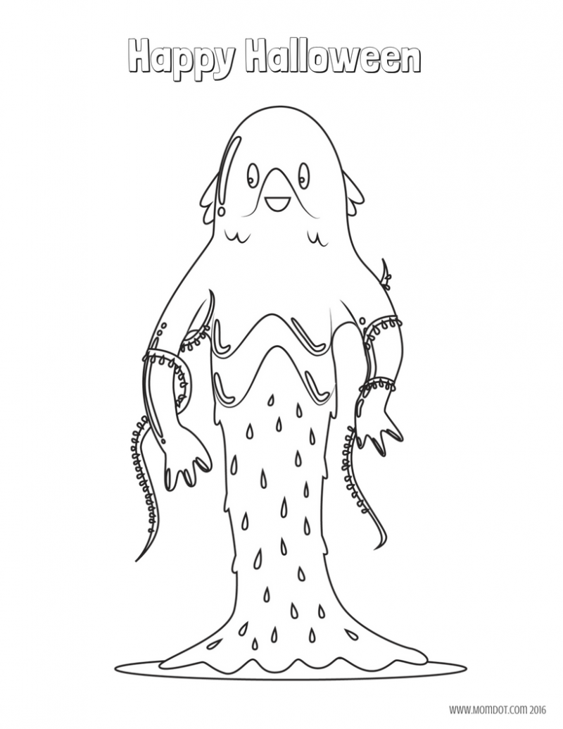 Free Halloween Coloring Sheets Printables For Kids