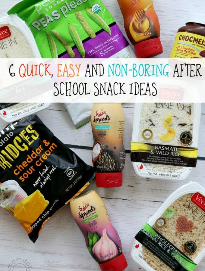 6 Quick After School Snacks for Kids that make snacking easy, simple, and delicious