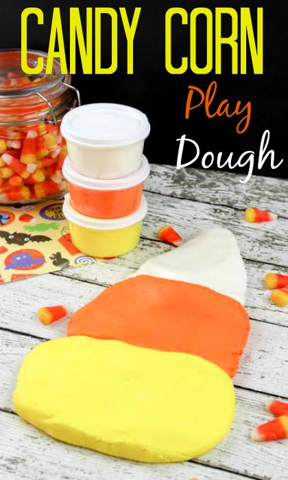 candy corn play dough recipe
