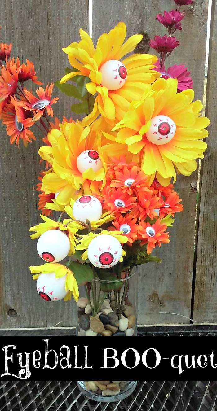 Halloween Eyeball Bouquet DIY