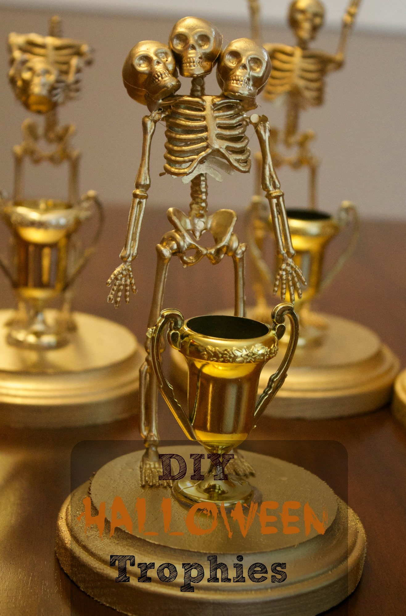 Costume Contest Halloween Trophies DIY