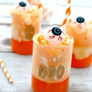Eyeball Punch: Orange Creamsicle Non-Alcholic Party Drink