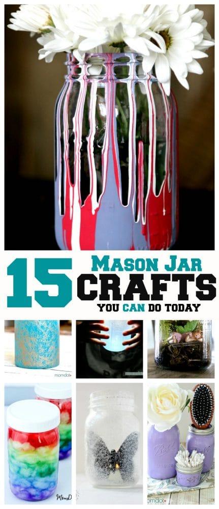 15 Mason Jar Crafts You Can Do Today