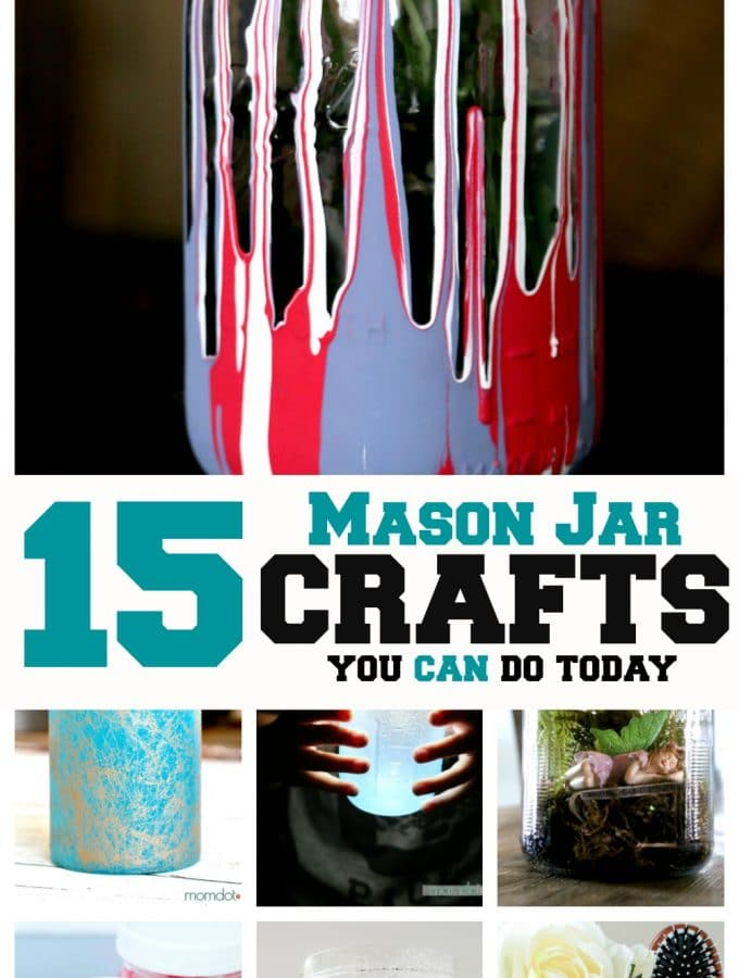 15 Mason Jar Crafts you can do today: Fantastic Tutorials that will use every mason jar in your house!