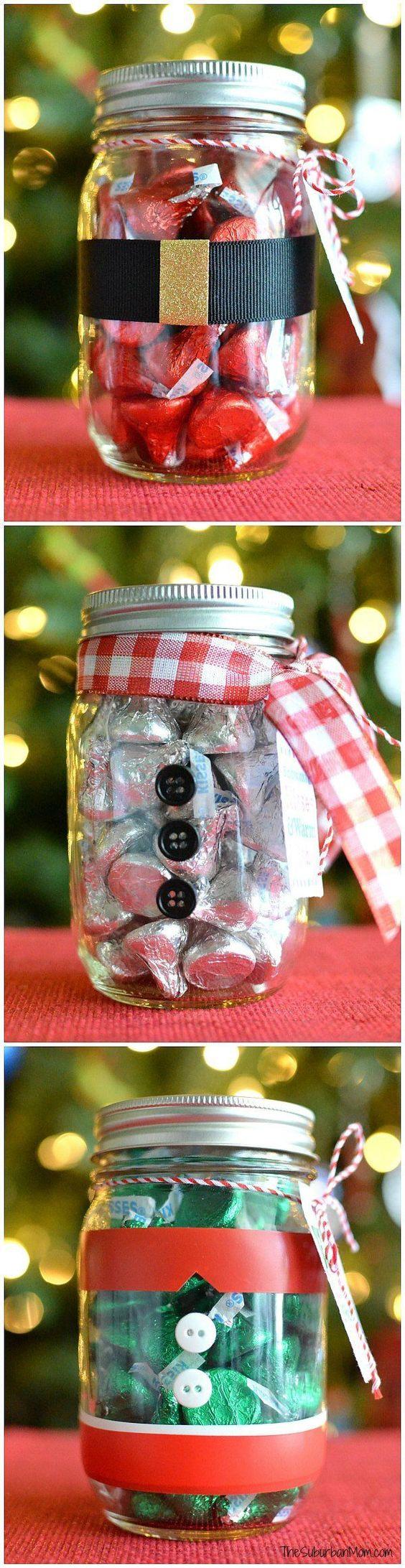 15 Amazing Mason Jar Christmas Crafts
