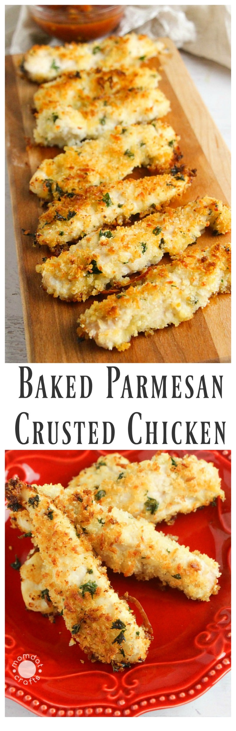 Parmesan Crusted Chicken Recipe Baked Parmesan Crusted Chicken Recipe  Momdot