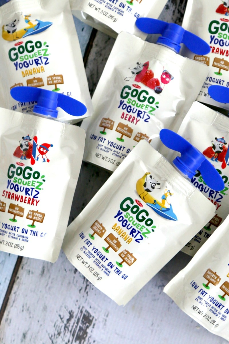 Free Thanksgiving Labels, Wrap around pouches like GoGosqueeZ and remind kids to be Thankful, great to put out for PRE-Thanksgiving Snack