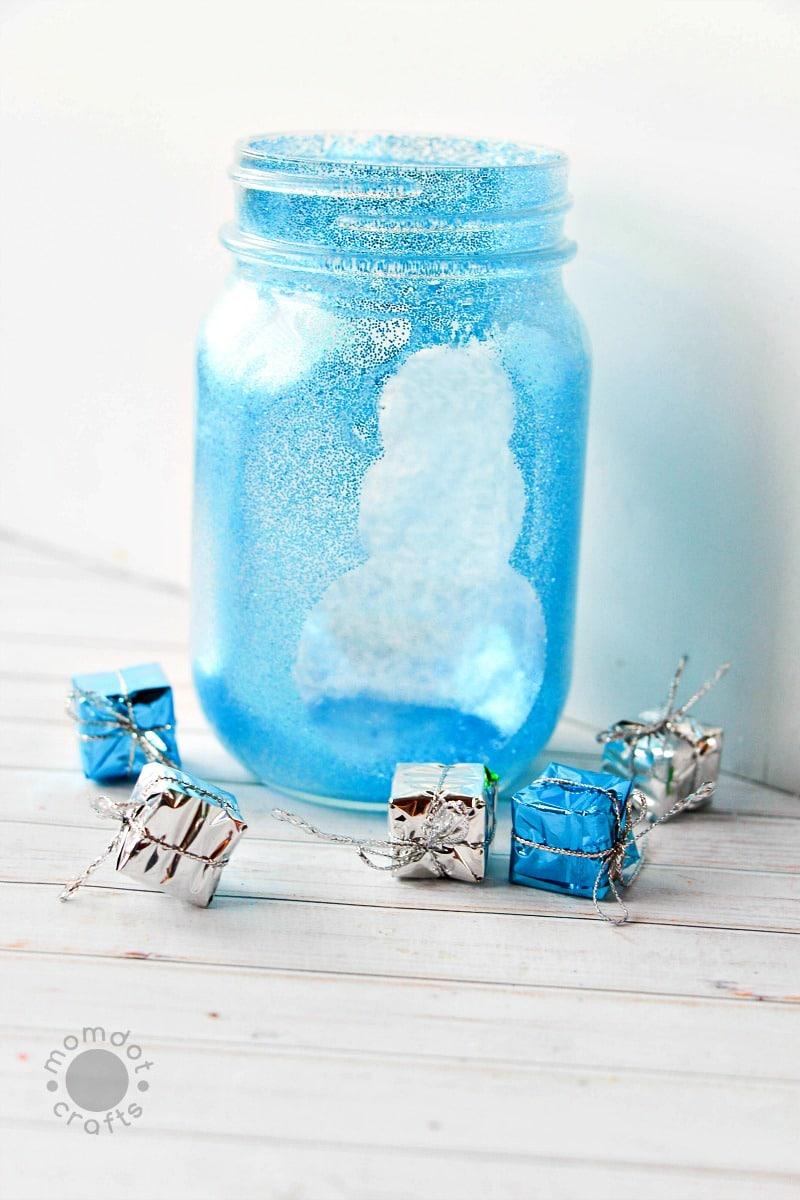 Snowman Mason Jar Crafts