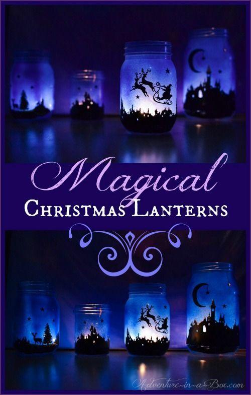 Magical Christmas Lanterns tutorial