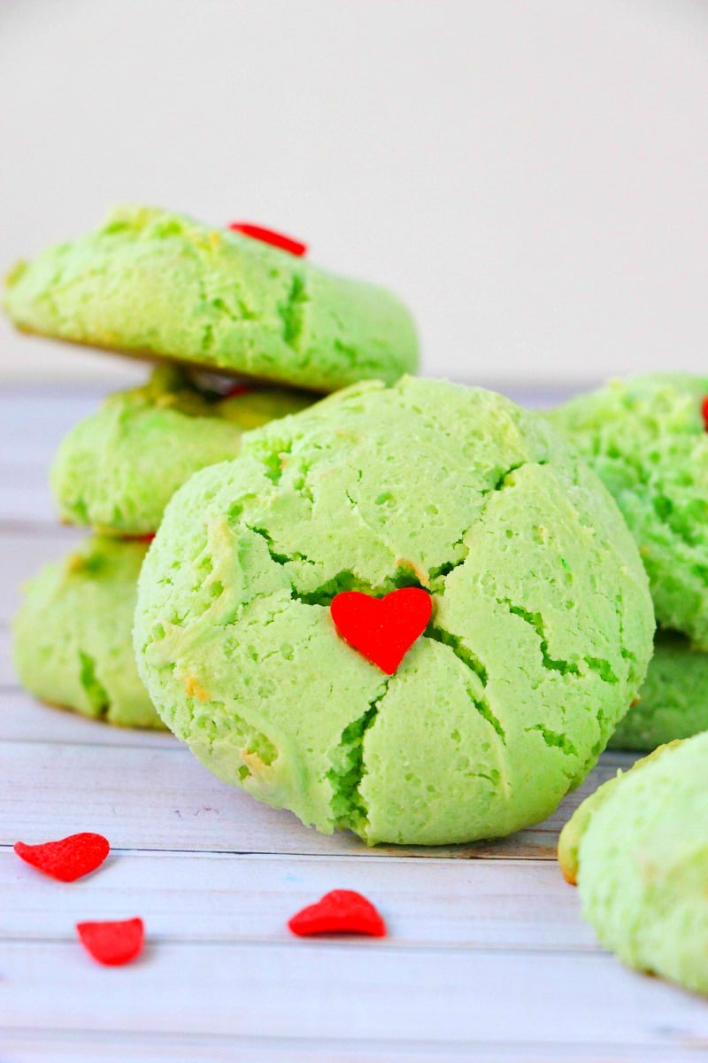 Grinch christmas cookie recipe momdot