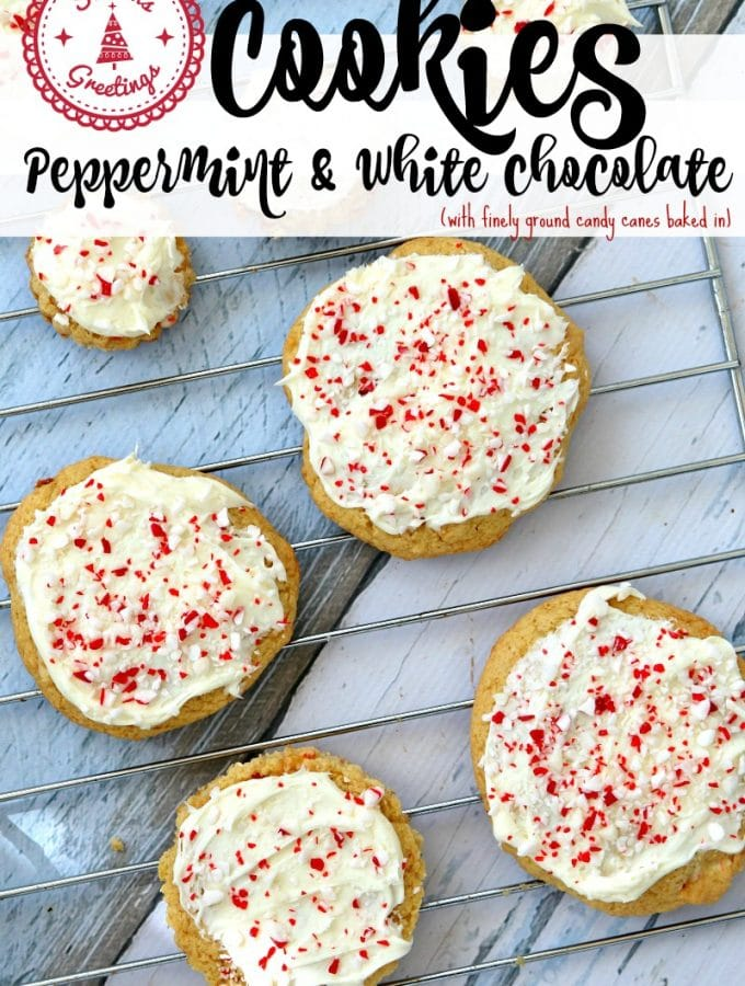 Peppermint and White Chocolate Cookie Recipe