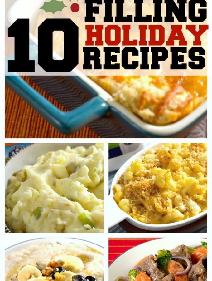 10 Filling Holiday Recipes