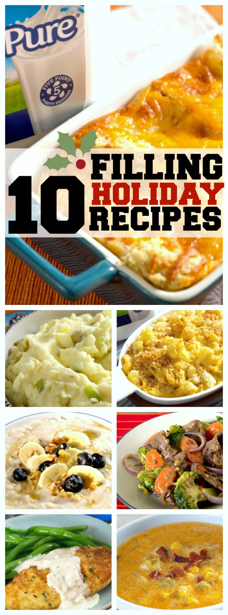 10 Filling Holiday Recipes