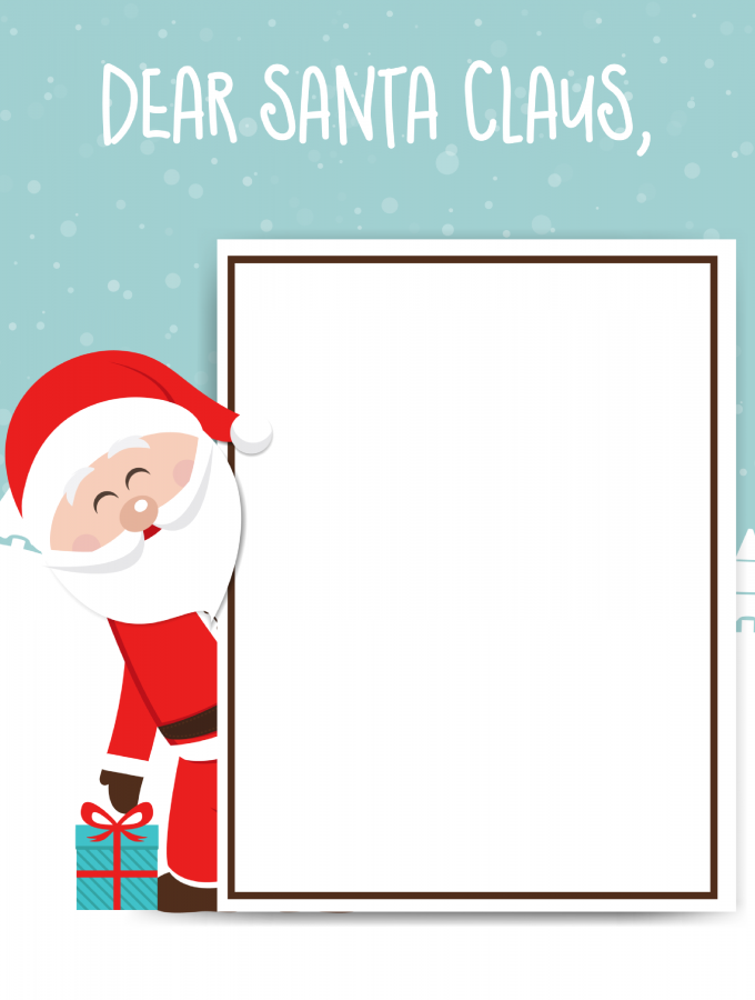 Santa Claus Letter: FREE PRINTABLE FOR KIDS