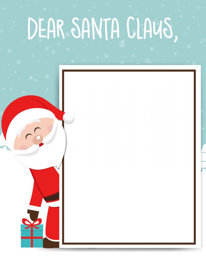 Santa Claus Letter: FREE PRINTABLE FOR KIDS