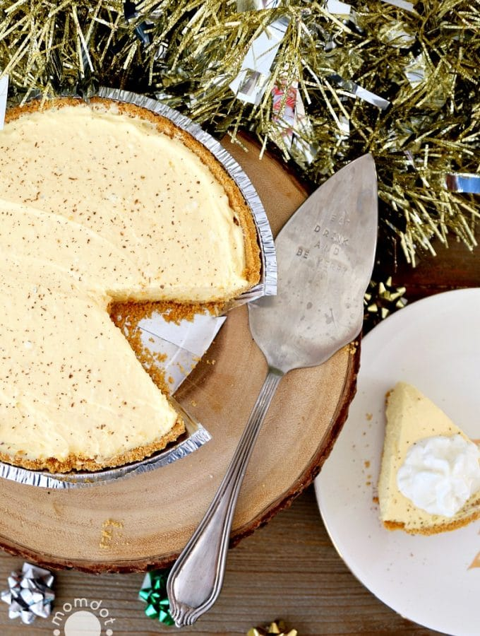 Eggnog Cheesecake Recipe | No Bake Mini Cheesecakes