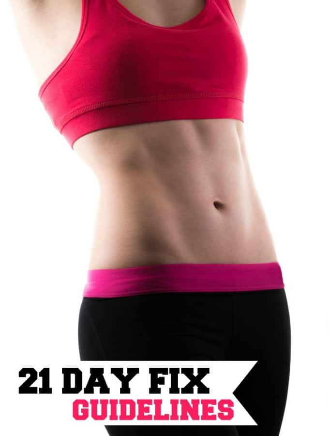 21 Day Fix Guidelines